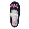 House shoes with flowers mini-b, blue , 379-9215 - 19