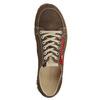 Ladies' leather sneakers weinbrenner, brown , 546-4604 - 15