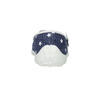 House slippers with stars mini-b, blue , 379-2215 - 17