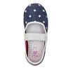 House slippers with stars mini-b, blue , 379-2215 - 19