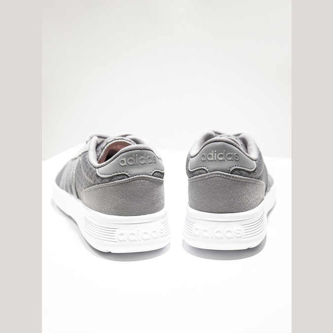 Ladies' grey sneakers adidas, gray , 509-2198 - 14