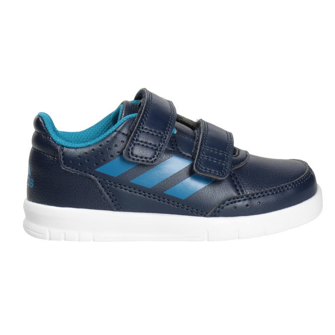Children's Hook-and-Loop Sneakers adidas, blue , 101-9161 - 26