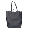 Ladies' leather Shopper handbag, blue , 964-9122 - 26