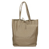 Ladies' leather handbag with bow bata, beige , 964-2122 - 26