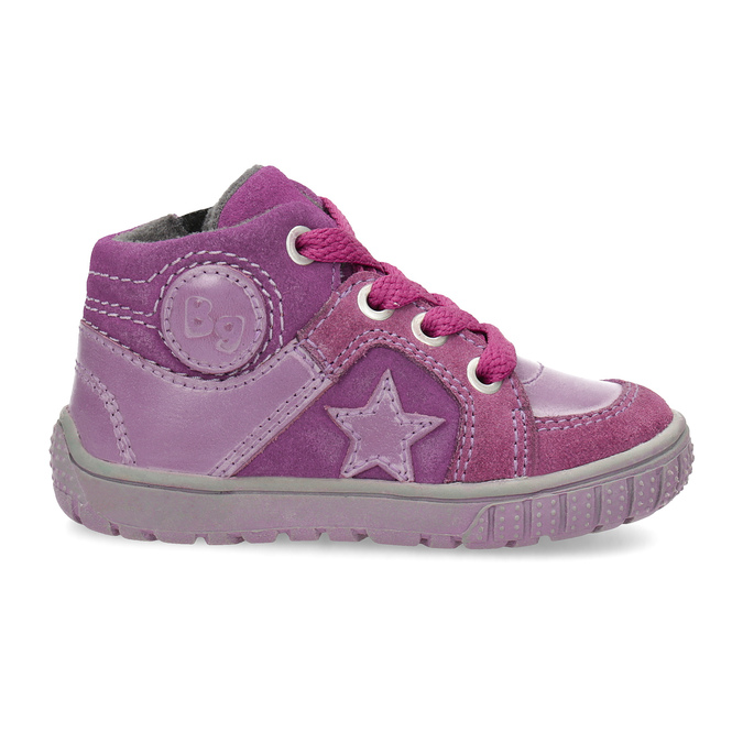 Girls' pink shoes bubblegummer, pink , 123-5601 - 19