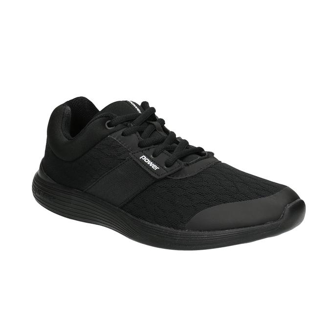 Ladies' Black Sneakers power, black , 509-6203 - 13