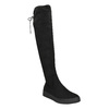 Ladies' black high boots bata, black , 699-6634 - 13