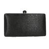 Ladies' solid clutch bata, black , 969-6660 - 17