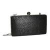 Ladies' solid clutch bata, black , 969-6660 - 13