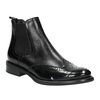 Ladies' Chelsea style leather boots bata, black , 594-6638 - 13