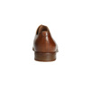 Leather dress shoes bata, brown , 826-3680 - 17