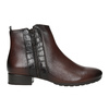 Ankle Boots with Texture gabor, brown , 516-3114 - 26