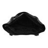 Black studded handbag, black , 961-6787 - 15