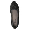 Ladies' Ballet Wedge Pumps gabor, black , 623-6027 - 15
