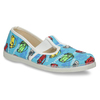 Children's Slippers with Cars, blue , 279-9105 - 13