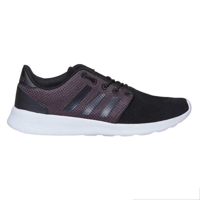 Ladies' athletic sneakers adidas, black , 503-6111 - 15