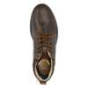 Men's leather ankle boots bata, brown , 846-4645 - 17