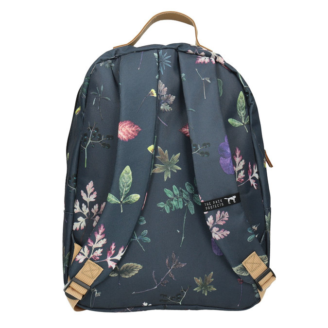 Blue Backpack with Print, blue , 969-9085 - 16