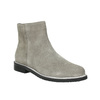 Brushed leather ankle boots bata, gray , 593-2603 - 13