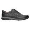 Men's leather sneakers bata, black , 824-6921 - 15