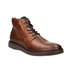 Leather Ankle Boots bata, brown , 896-3675 - 13