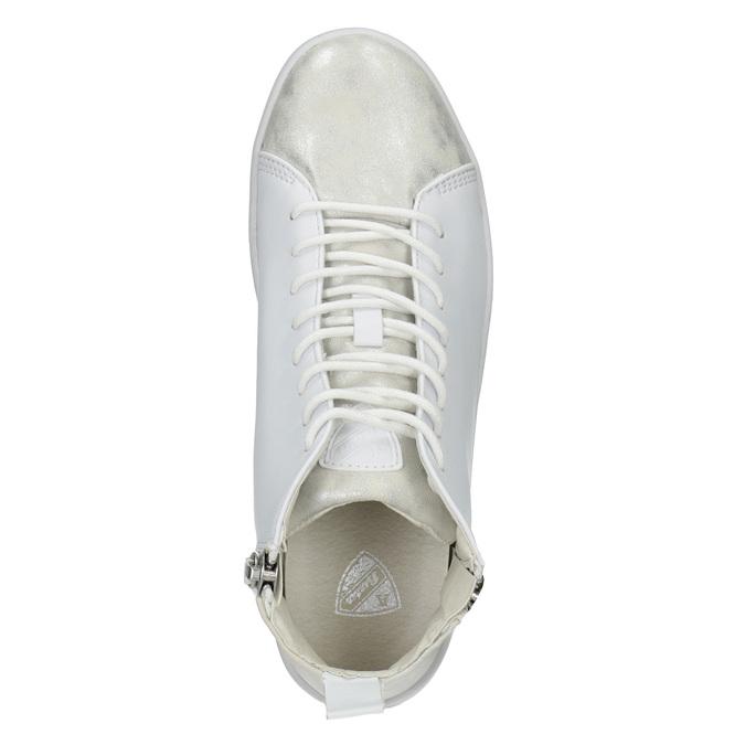 White High-Top Sneakers, white , 501-1172 - 15