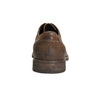 Men's leather shoes with stitching bata, brown , 826-4610 - 17