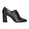 Ladies' pumps with stable heel hogl, black , 724-6055 - 26