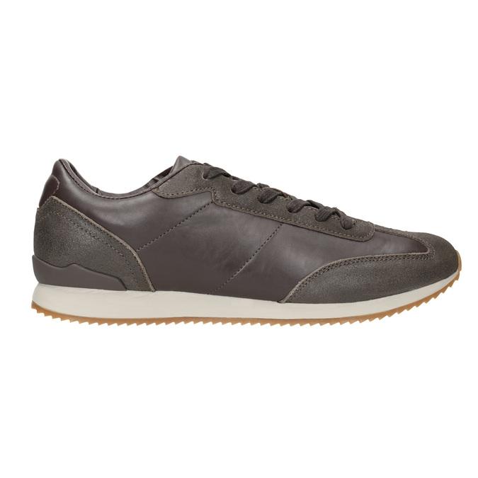 Men's Casual Sneakers, brown , 801-3180 - 26