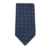 Men's Tie and Handkerchief Set bata, blue , 999-9294 - 26