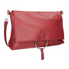 Red Envelope Handbag with Chain bata, red , 961-5164 - 13