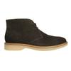 Ladies' Leather Chukka Boots bata, brown , 593-4608 - 15