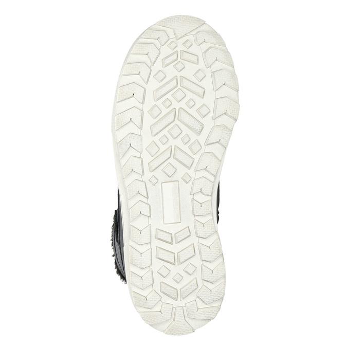 Children's Winter Boots mini-b, black , 491-6652 - 19