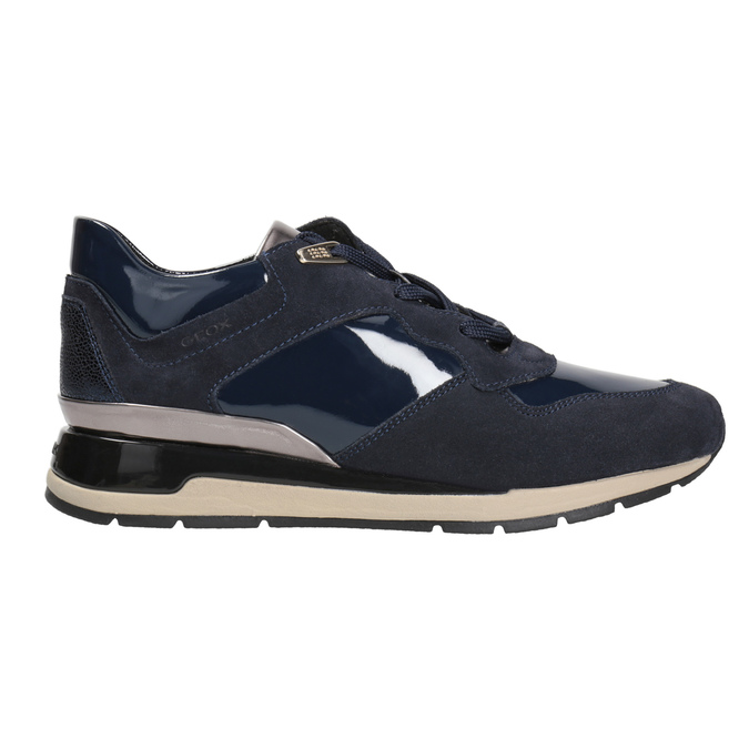 Blue Ladies' Sneakers geox, blue , 623-9042 - 26