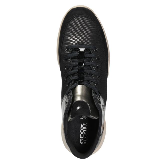 Ladies' Breathable Sneakers geox, black , 629-6044 - 15