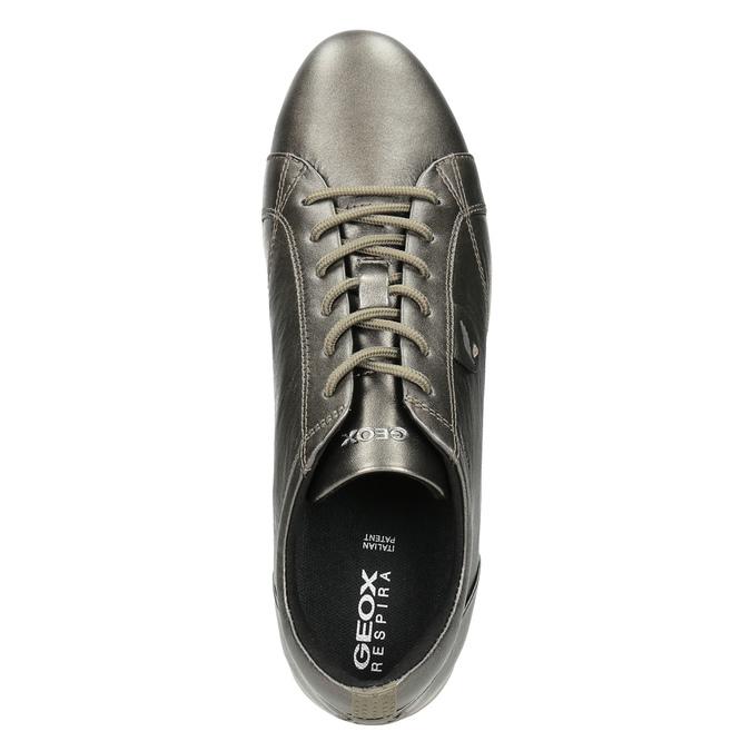 Ladies' Leather Sneakers geox, brown , 526-8090 - 15