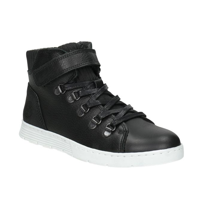 Boys' High Top Shoes, black , 494-6024 - 13