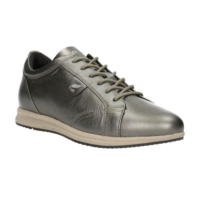 Ladies' Leather Sneakers geox, brown , 526-8090 - 13