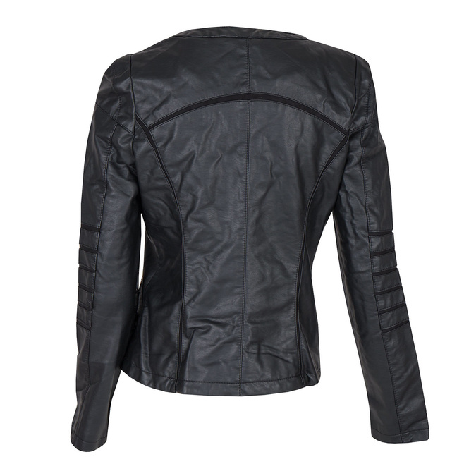 Ladies' Jacket with Gold Accents bata, black , 971-6204 - 26