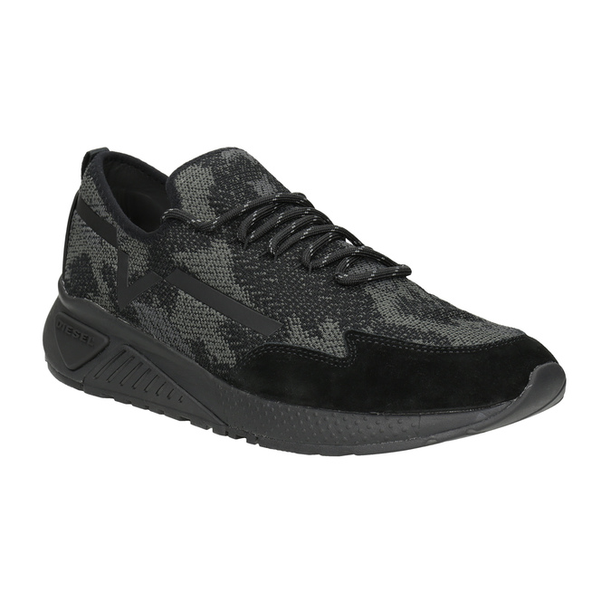 Men's Sneakers diesel, black , 809-6602 - 13
