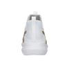 White Ladies' Sneakers with Gold Stripe puma, white , 509-1200 - 16