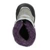 Girls' Winter Boots with Fleece bubblegummer, gray , 193-2601 - 26