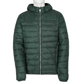 Men's Quilted Jacket with Hood bata, green, 979-7143 - 13