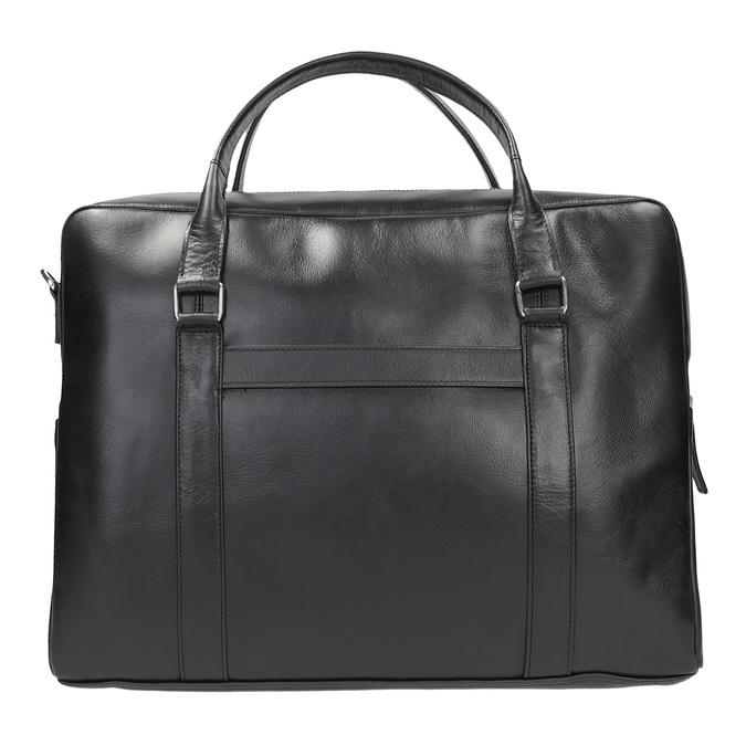 Black Leather Bag royal-republiq, black , 964-6051 - 26