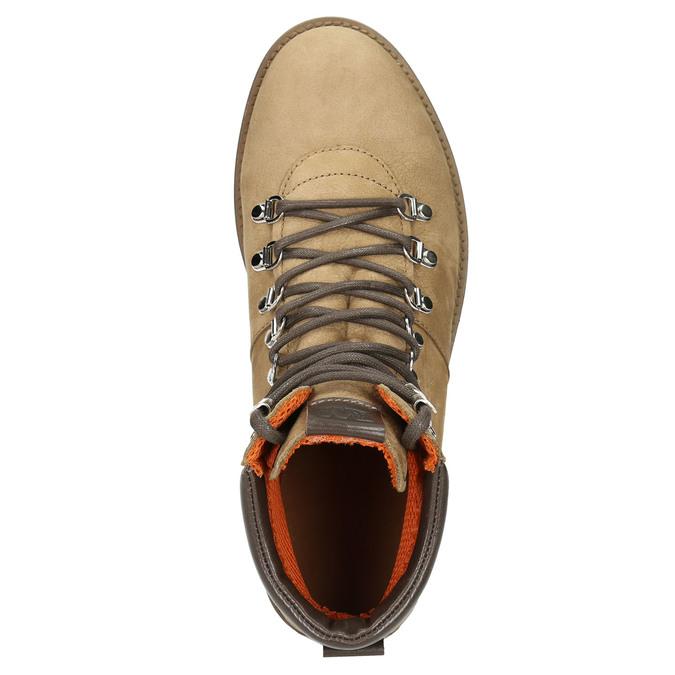 Men's Leather Winter Boots weinbrenner, brown , 896-3700 - 26
