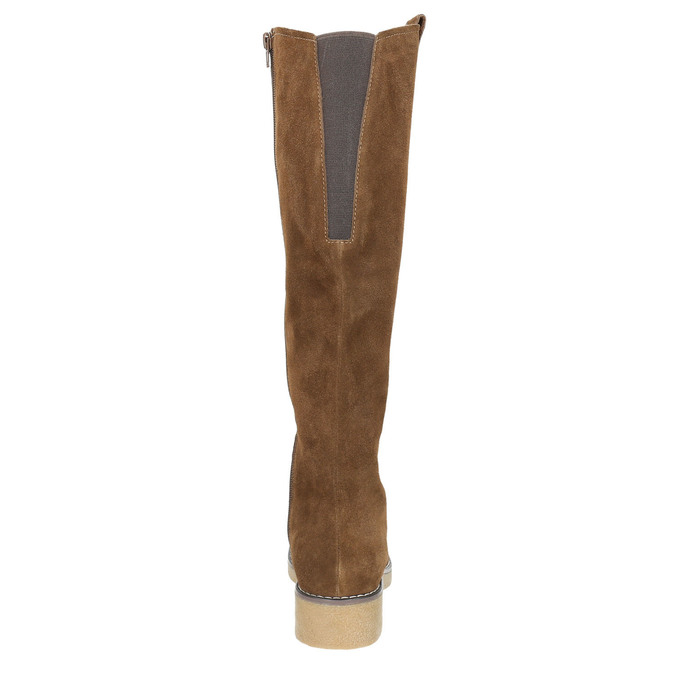 Ladies' Winter High Boots bata, brown , 593-4606 - 16