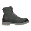 Men's leather boots with distinctive sole weinbrenner, gray , 896-2702 - 26