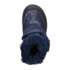 Children's Winter Boots with Hook-and-Loop Closures mini-b, blue , 299-9613 - 26