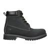 Men's leather winter boots weinbrenner, black , 896-6656 - 15
