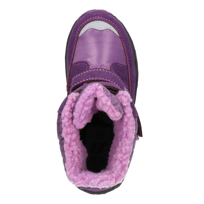 Girls' Purple Snow Boots mini-b, violet , 291-9625 - 26